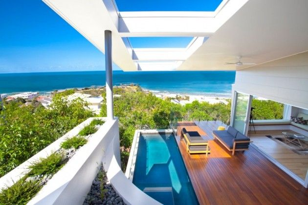 Modern beach #dreamhouseoftheday in AustraliaHouse Design, Beach House, Coolum Bays, Queensland Australia, Aboda Design, Design Group, Minimalist Interior, Beachhouse, Bays Beach