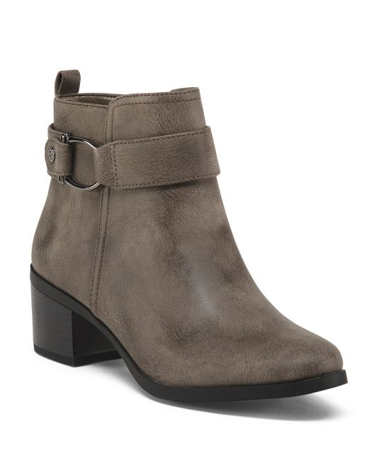 752bfcea817 Buckle Ankle Booties