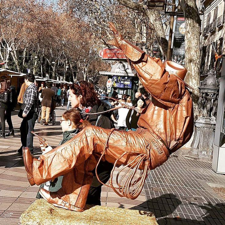Cowboy a Barcellona. #abstract #archidaily #architecture #archilovers #architecturelovers #architexture #architectureporn #art #artigianato #beatiful #building #buildings #cities #citylife #city #composition #design #geometric #istagood #lines #urban #style #street #town #brescia #bresciacentro #bresciasegreta