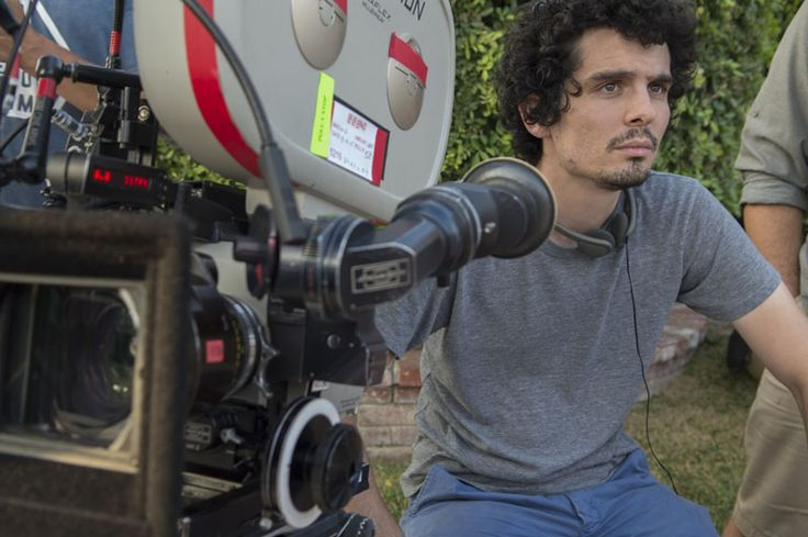 Damien Chazelle on the set of La La Land (6)