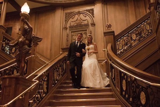 A Titanic Styled Wedding : an inspirational shoot at the Titanic Museum - Brenda's Wedding Blog - unique daily wedding blogs from Best Wedding Sites for brides & grooms