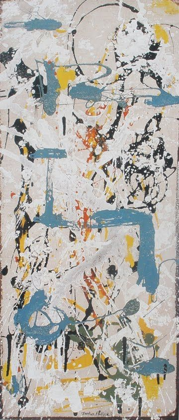 "Jackson Pollock  ""Jazz is the false liquidation of art — instead of utopia becoming reality it disappears from the picture.""  ― Theodor W. Adorno"