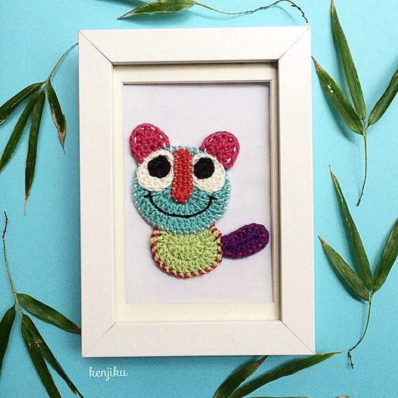 Big Eyes Meow Crochet Pattern  DIY by KenjikuMade on Etsy