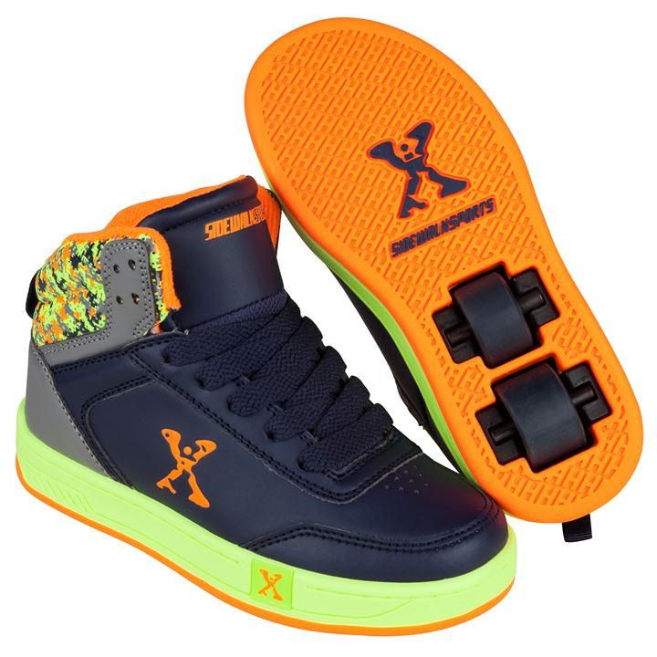 Sidewalk Sport | Sidewalk Sport Hi Top Boys Skate Shoes | Kids Skate Shoes