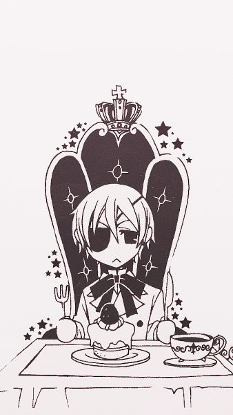 Ciel Phantomhive ♡   Kuroshitsuji - Black Butler #Anime #Manga