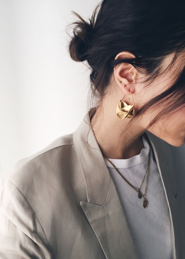 The Fashion Medley | Anissa Kermiche earrings