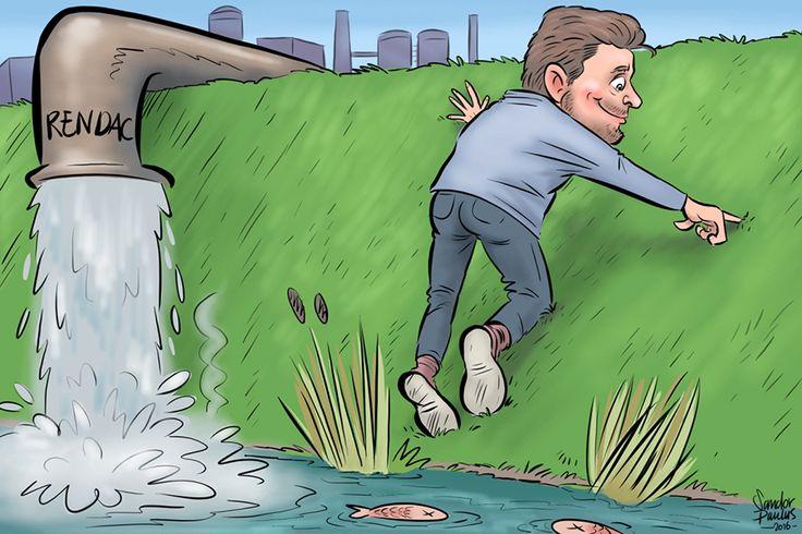 Vinger in de dijk! - Sandor Paulus
