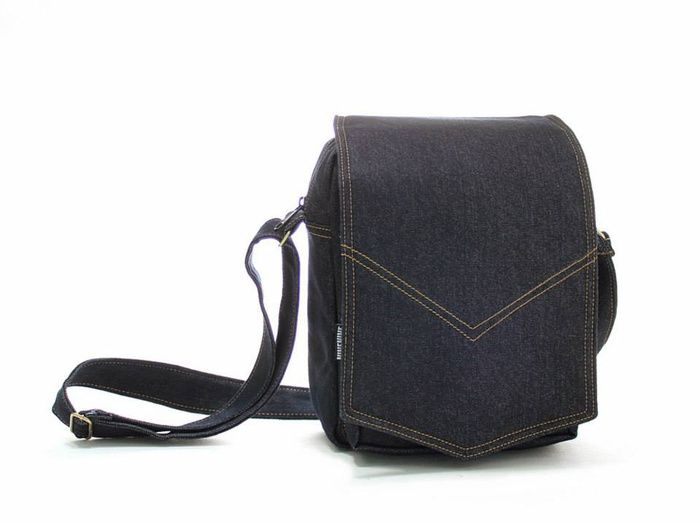 Jual Sling Bag Ninenine BLACK INDIGO DENIM - Cherry Blossom Gallery | Tokopedia