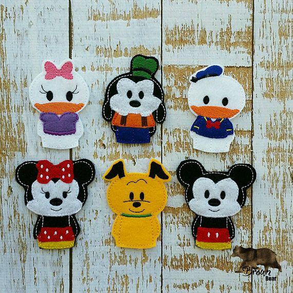 Mickey muñecos clubhouse del ratón / marionetas de dedo /