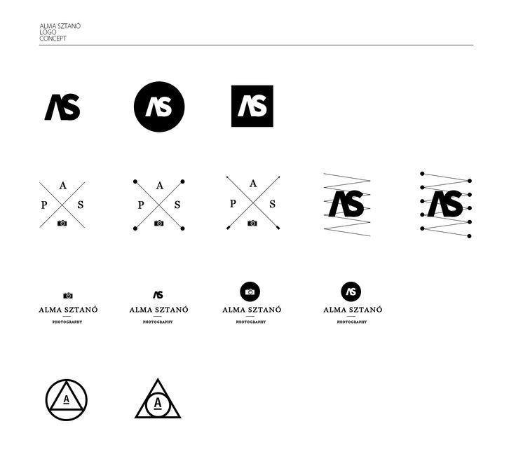 Alma Sztano Logo concept