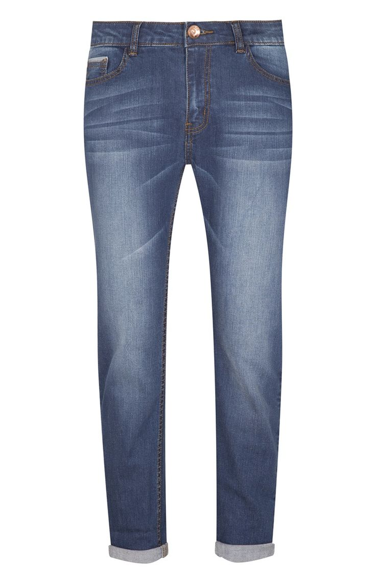 Primark - Blue Wash Slim Boyfriend Jeans