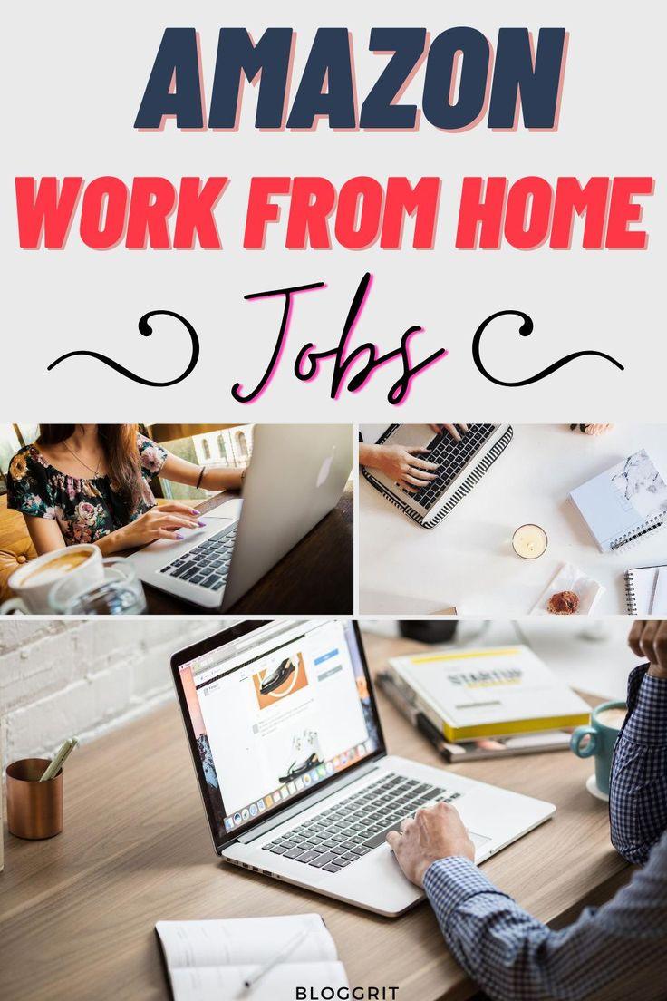 Amazon Jobs Online Work From Home Jobs in 2020 Work