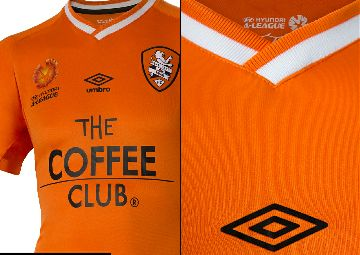 Brisbane Roar FC Sign with Umbro. Unveil 2014/16 Kit and New Crest.