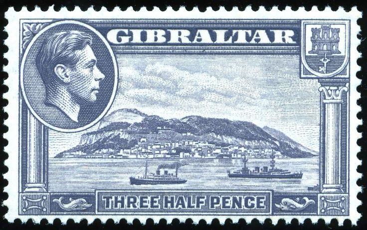 king george vi gibraltar 1938