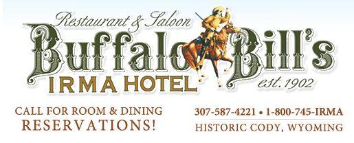 Irma Hotel Buffalo Bill's  Cody, WY