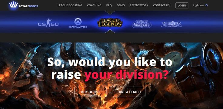 RoyaleBoost provides the best services to their customers, so most of the people are willing to try them out. The boosters of this website are diamond challenger level and very fastest; you can find online the Lol Elo boosting games.