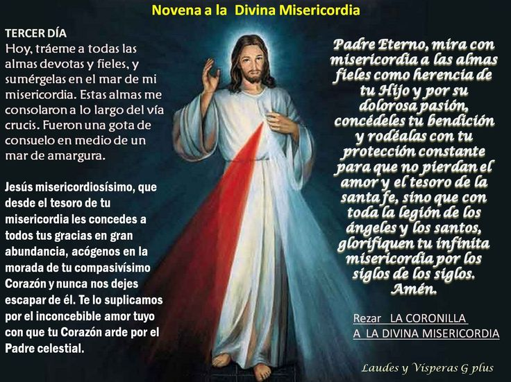 how to pray the divine mercy chaplet in spanish