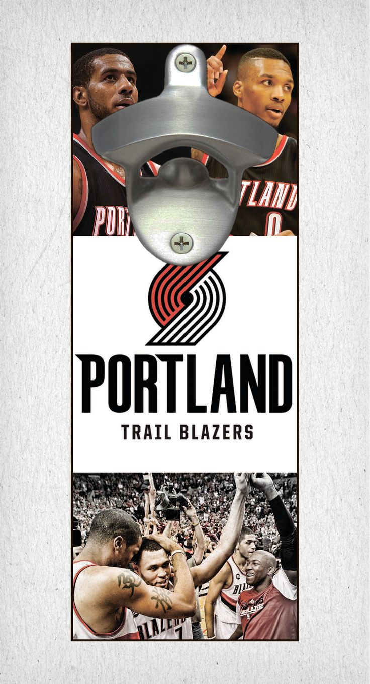 This Portland Trail Blazers bottle opener can be a great gift to any sports fan. It's the perfect addition to any man cave, bar area, kitchen, or to just put out while watching the big game. It is also a great groomsmen gift. Portland Trail Blazers Wall Mount Bottle Opener Portland Trail Blazers Cap Catcher Portland Trail Blazers Wall Opener Portland Trail Blazers Beer Opener Portland Trail Blazers Wall Art Portland Trail Blazers Craft Portland Trail Blazers Decor Portland Trail Blazers Gift…