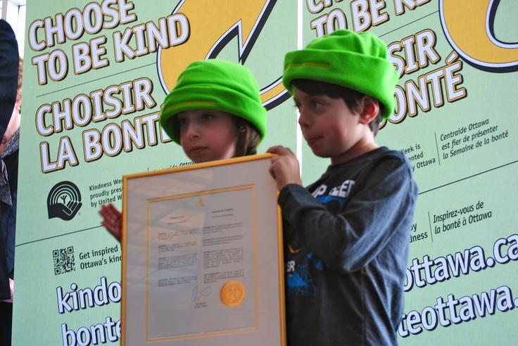 Kindness Week proclamation