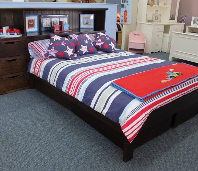 Double Bed Allan Converter With Options Dreamworld Furniture