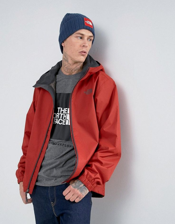 The North Face Quest Lightweight Waterproof Jacket in Red - Red