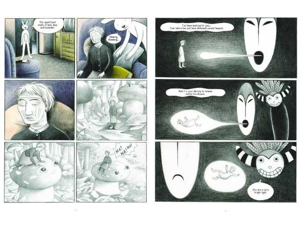 Gabriella Giandelli makes her graphic novels sing.: Graphic Novels, 06 Graphics Novels, Once, Drawn Songs, Inspiration Art, Novels Singing, Gabriella Giandelli, Was A
