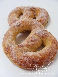 Receita O meu pretzel fofo de CHOCOLATRIA