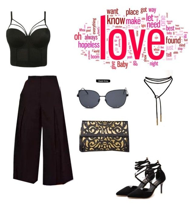 """""""Bustier Glamerous Outfit"""" by merchandizeworld on Polyvore"""