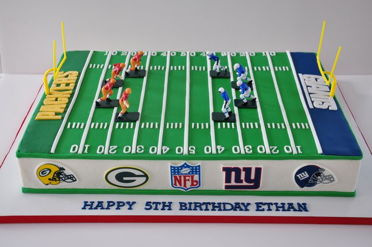 Football Field Cake  on Cake Central