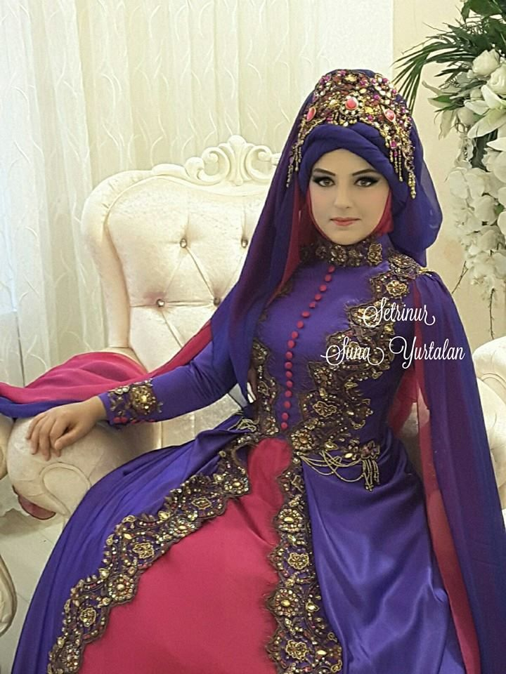 17 best busana images on Pinterest | Hijab bride, Muslim brides and ...