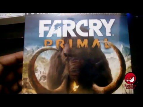 Unboxing and Installing Far Cry Primal PC Video Game