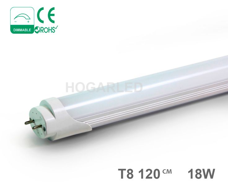 tubos de led de 12w y 18w