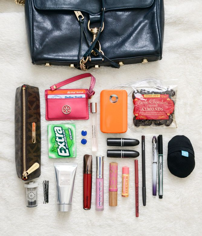 what's in my purse I howsweeteats.com