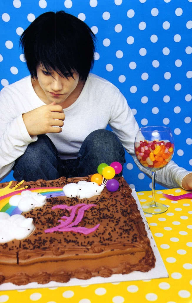 Birthday Cake Live Images ~ L s birthday cake lawliet live action pinterest cakes and death note