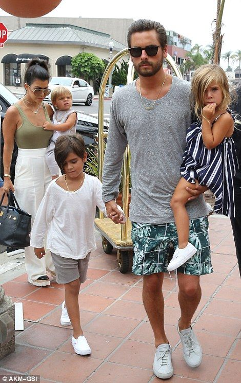 Reunited: Scott and Kourtney, who split last summer after nine years together, have contin...