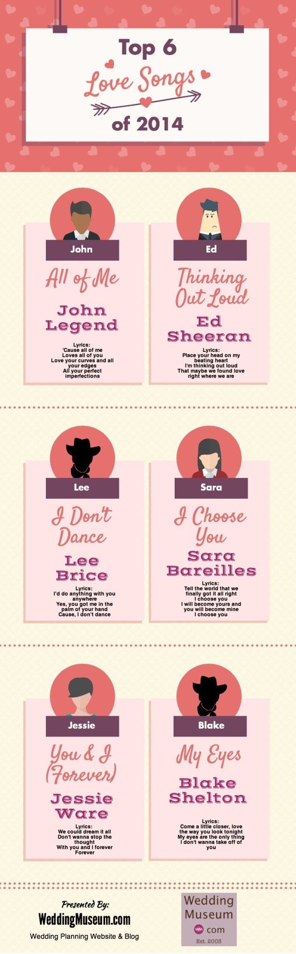 Best 25 Wedding Songs 2014 Ideas On Pinterest