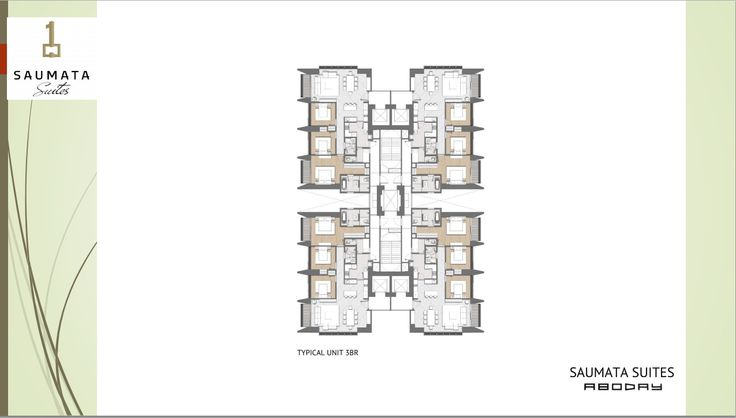 -Sumata Suites- Dirancang oleh arsitek terkenal ABODAY yang mengutamakan Pencahayaan dan Sirkulasi Udara yang baik, SAUMATA SUITES juga memiliki kelebihan dari setiap detail bahan yang dipakai memiliki Spesifikasi yang mewah dan terbaik.
