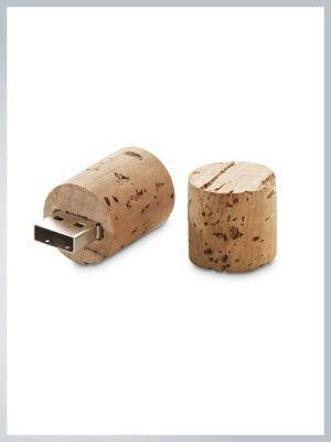 Clé USB bouchon en liège personnalisée