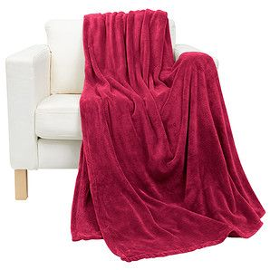 Coral Fleece Blanket - Chilli Another blanket donated to the Salvo's Winter blanket appeal