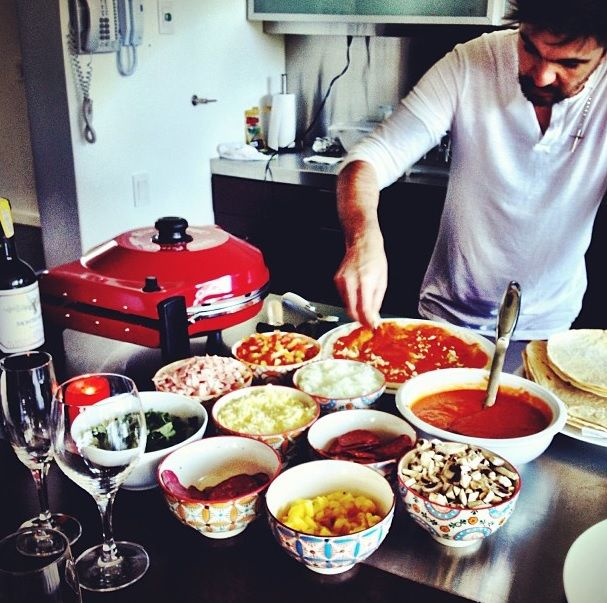 Juanes en su faceta de Chef