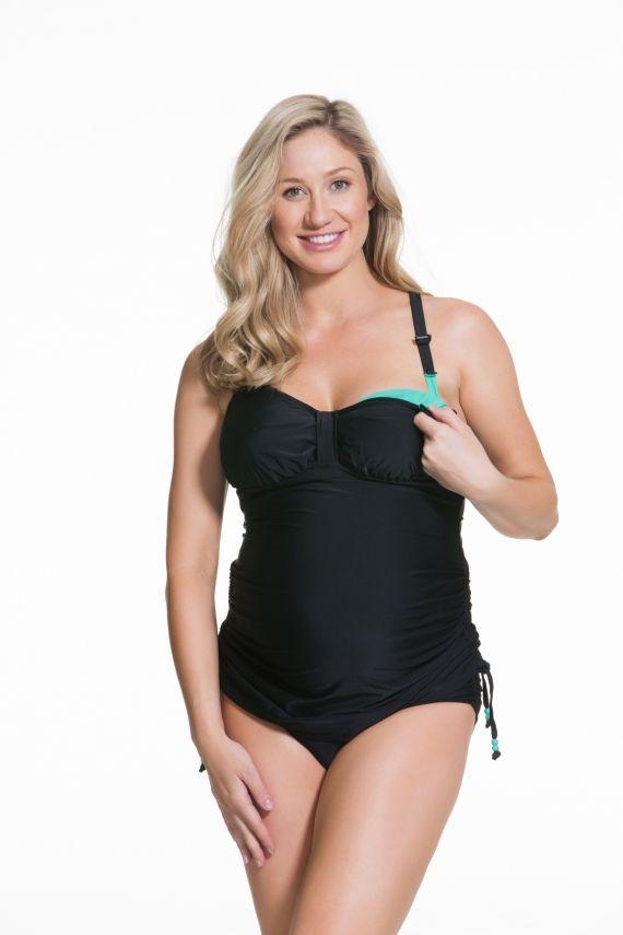 9aeeda0d82d Shake Fuller Flexi Wire Maternity Tankini Swimwear Set | Clothes ...