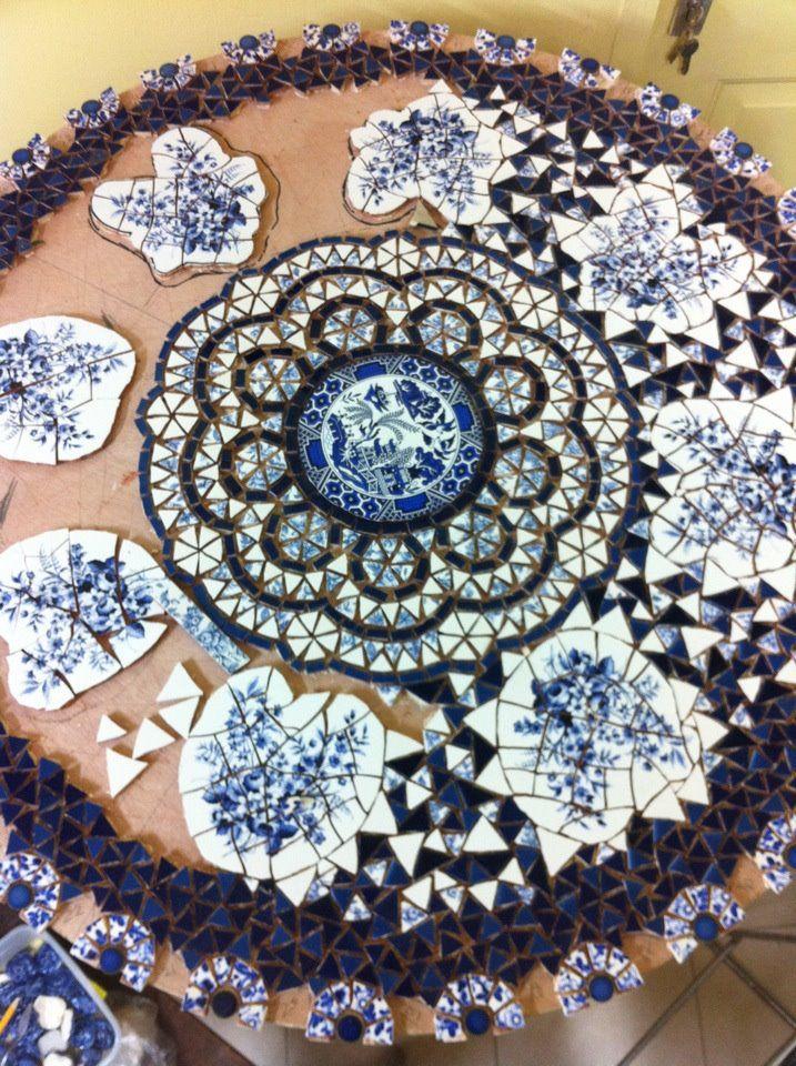 Israeli mosaic artist Nira Ben David Peled