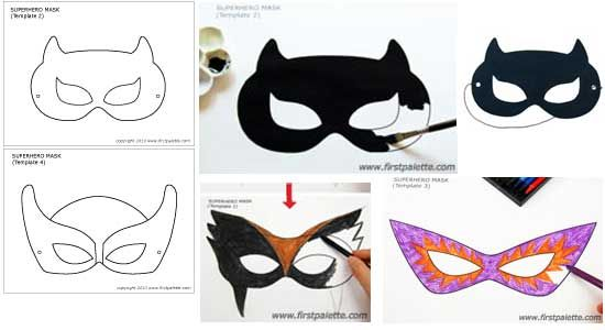 47 best images about cosplay mask templates tutorials on for Harley quinn mask template