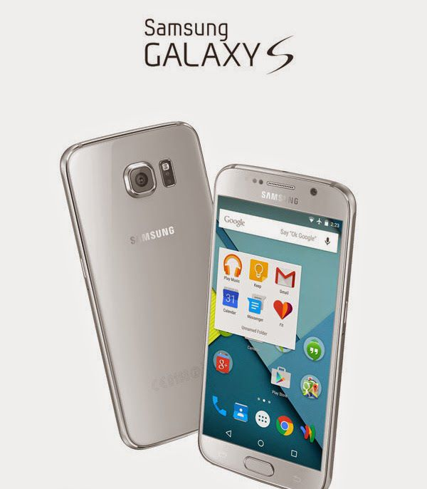 Galaxy S6 Perspective PSD Mockup