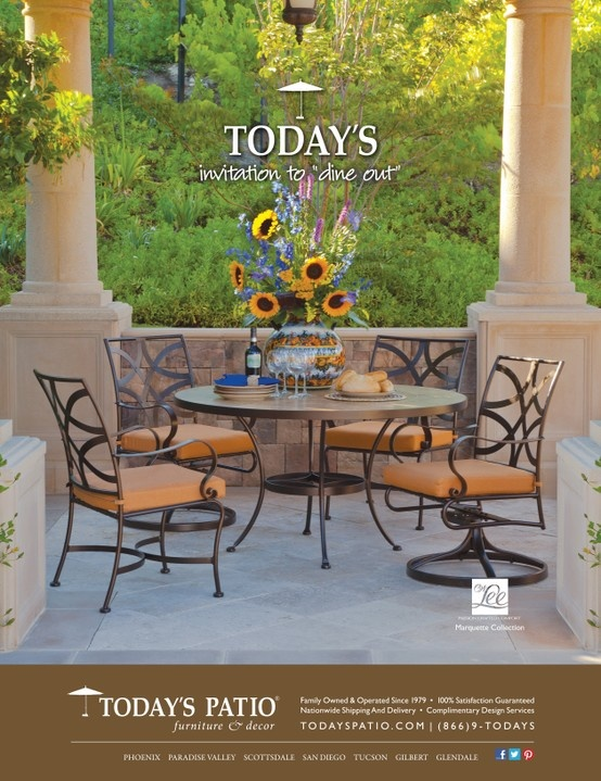 Captivating OW Lee Marquette Collection   Todayu0027s Patio Magazine Ad