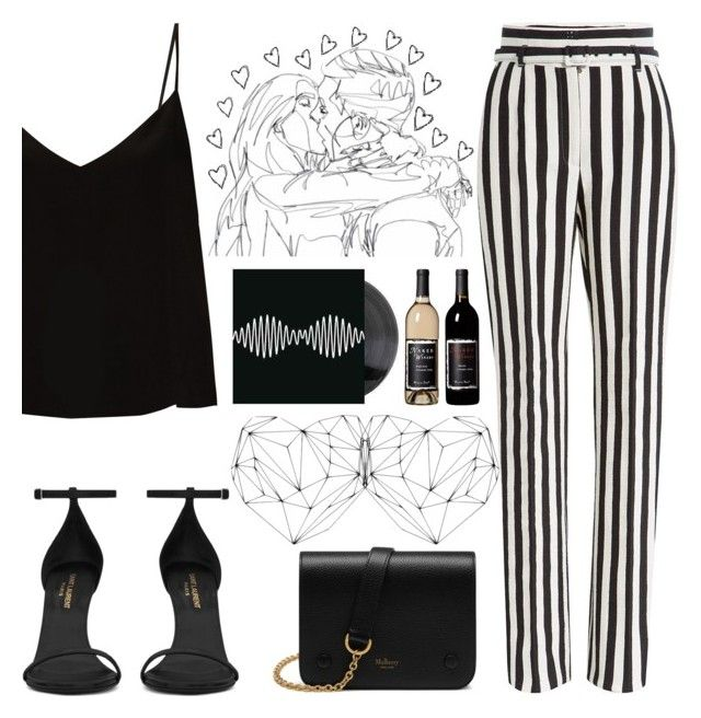"""""""I'll Make It Up To You"""" by apollinariya-664 ❤ liked on Polyvore featuring Raey, Dolce&Gabbana, Yves Saint Laurent, Mulberry, YSL, dolceandgabbana and happyhour"""