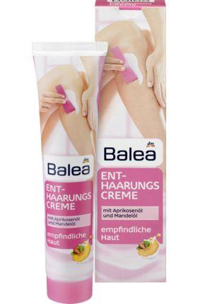 Die Balea Enthaarungscreme mit Aprikosenöl und Mandelöl entfernt Körperhaare besonders einfach und sicher und sorgt für ein schönes, glattes Hautgefühl....