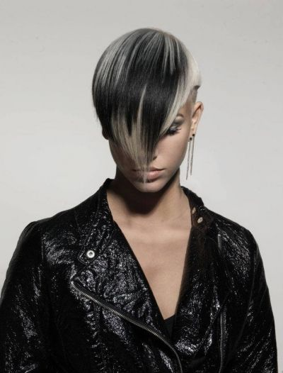 Dark and Hypnotic Bob Cut