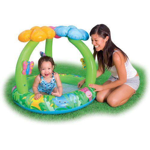 21 best images about toddler pool with canopy on pinterest for Best children s paddling pool
