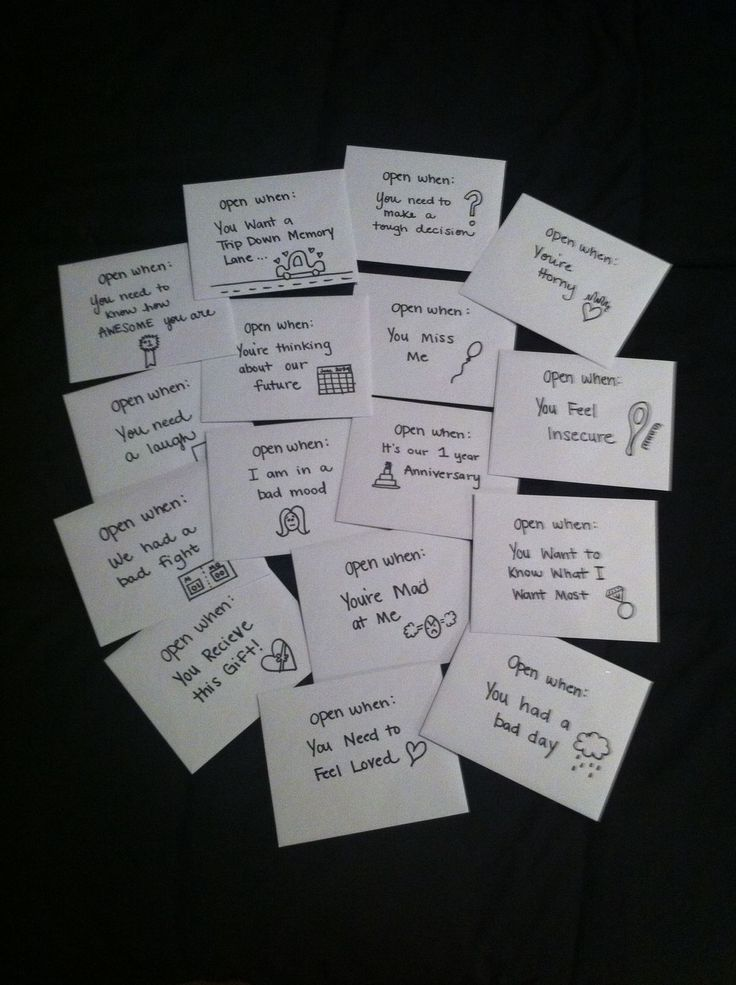 65 best images about anniversary gifts – What to Write in Boyfriends Valentines Card